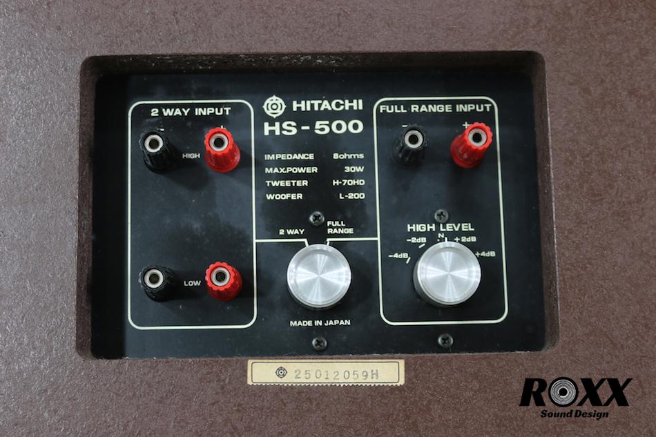 HITACHI Lo-d HS-500