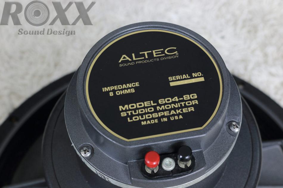 ALTEC アルテック 604-8G
